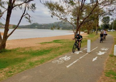 Narrabeen bike path