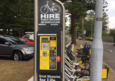 narrabeen bike hire station